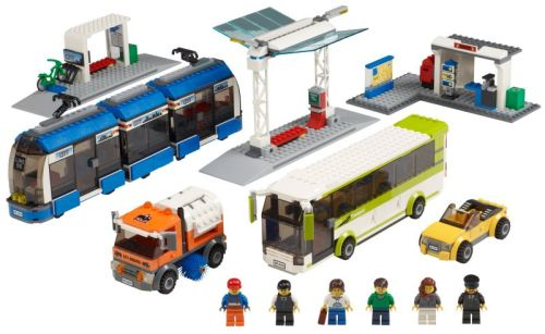 LEGO-City-Public-Transport-Station